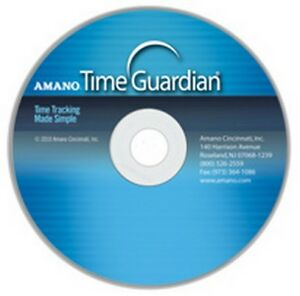 Amano Time Guardian Software
