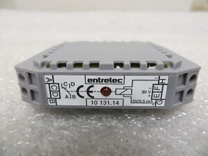 Entrelec 10 131 14 Relay Terminal Block 30 Volt New 1013114