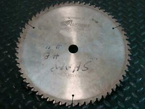 American 12 Circular Saw Blade Plexi Glass Cutting