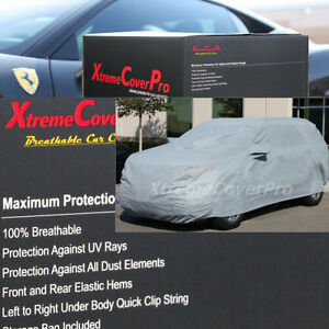 2015 Jeep Grand Cherokee Breathable Car Cover W Mirror Pockets Gray