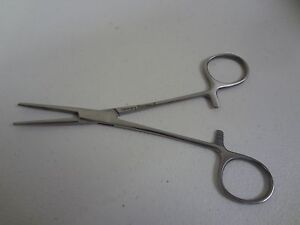 Kelly Hemostat Forceps 5 5 Straight German Stainless Steel Ce Surgical
