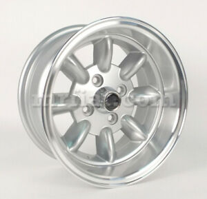 Bmw 1502 2002 3 Series E21 Minilite Style Wheel 7x13 Offset 7 New