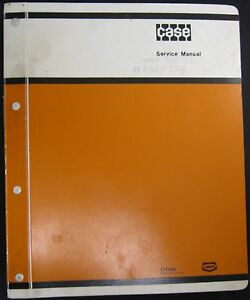 Case 580 Construction King Loader Backhoe Forklift Tractor Service Manual