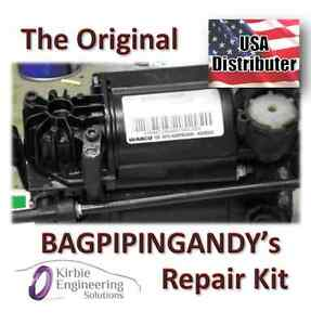 Audi Allroad Wabco Air Suspension Compressor Pump Repair Refurbish Kit