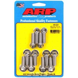 Arp 434 2001 Small Block Chevy Stainless Steel Hex Intake Manifold Bolt Kit