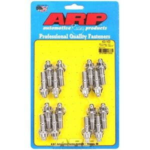 Arp Bolts 400 1403 Big Block Chevy 3 8 X 1 670 Stainless Steel Header Stud Kit