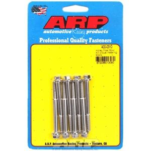Arp Bolts 400 0310 Holley Float Bowl Kit W duel Metering Block