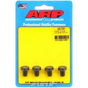 Arp Bolts 240 7301 Mopar Torque Converter Bolt Kit Thread Size 5 16 24 4pk