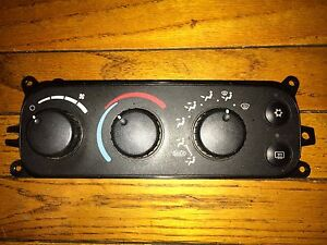 01 04 Dodge Dakota Durango Heater Climate Control Unit 2001 2002 2003 2004
