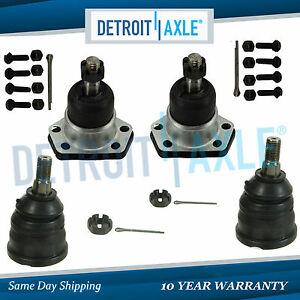 All 4 New Front Upper Lower Ball Joint Assembly For Chevy Blazer Camaro