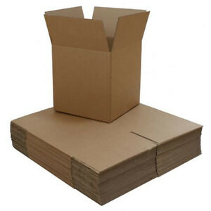 100 4 x4 x4 Corrugated Carton Boxes W Free Shipping