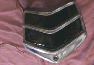 Vintage 1940 Oem Ford Deluxe Taillights Tail Lamps From Arizona 4 Rat Hot Rod