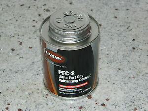 Prema Tire Repair Glue Cold Vulcanizing Fluid 8 Oz Pfc8 Made In U S A