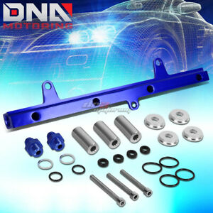 Blue Cnc Aluminum Top Feed Fuel Injector Rail Kit For 240sx Silvia S13 Sr20det