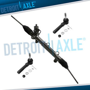 Complete Power Steering Rack And Pinion Assembly Pontiac Grand Am Malibu Alero