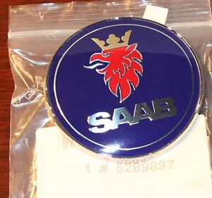New Saab 5289897 Emblem 9 3 Nos Oem Genuine Low Shipping 99 2003 Trunk