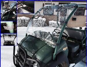 Kawasaki Mule 610 Windshield hard Coated Polycarbonate P n 12754