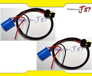 Wire Hid Ballast Kit Xenon 9007 Hb5 Two Harness Head Light Power Cable Adapter