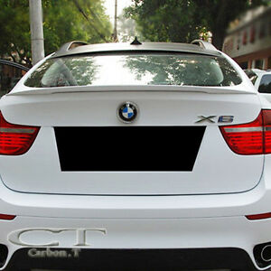 Painted Bmw E71 X6 Series Performance Type Rear Wing Trunk Spoiler 40d X6m