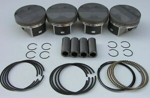 Jdm Nippon Racing Floating Prc Itr Pistons Type R K24 Dc5 Hst Standard 87mm New