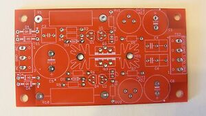 Diy Pcb Two channel Shunt regulated Adjustable Bias Supply