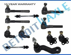 New 11pc Complete Front Suspension Kit For 2000 2001 Dodge Ram 1500 2wd