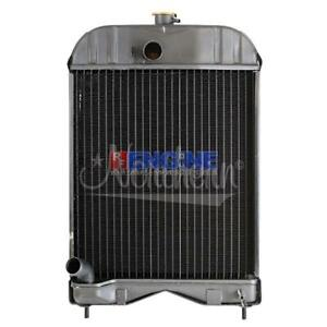 New Radiator Massey Ferguson Fits 35 Diesel 135 35fe