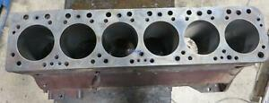 Waukesha Wk Engine Block Good Used 195020d Bore Style Two And Four Has Lines