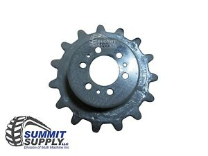New Bobcat Rubber Track Drive Sprocket T140 t180 t190 free Shipping sp063