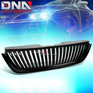 2002 2005 Ford Explorer U152 Black Vertical Style Front Sport Grill Grille Cover