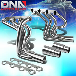 Stainless Steel Header For 87 96 F150 f250 bronco 5 8 V8 Pickup Exhaust manifold