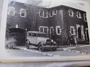 1928 1929 Ford Town Sedan 12 X 18 Large Picture Photo