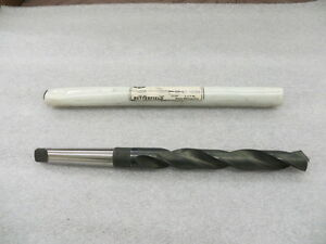 25 32 7812 High Speed 2 Morse Taper Drill Bit Butterfield Morse Usa New