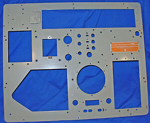 Clean Front Panel For Hickok Navy Model 118a 118b Tube Tester