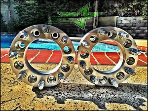 Ford Super Duty Excursion 8x170 Wheel Spacers 1 5 Inch 38mm 8 Lug Adapters