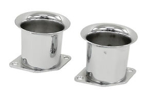 Weber Idf Velocity Stacks Chrome Hpmx Dellorto Vw Bug Dune Buggy Baja 2 In