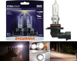Sylvania Xtra Vision 9005 Hb3 65w Two Bulbs Head Light High Beam Replacement Fit