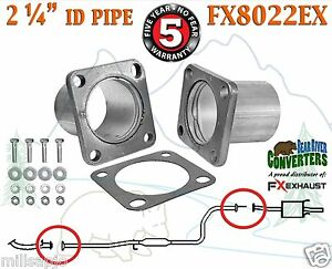 Fx8022ex 2 1 4 Id Universal Quickfix Exhaust Square Flange Repair Pipe Kit