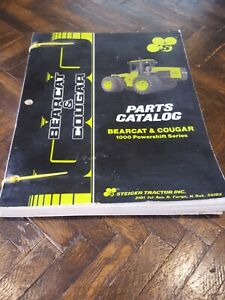 Steiger Bearcat Cougar Parts Catalog Tractor