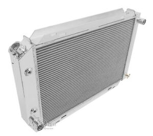 1980 93 Mustang 1980 93 Ford Cars 4 Row All Aluminum Champion Radiator Dr