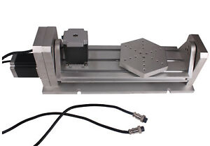 Cnc Engraver Machine H Style Rotary Table A Axis B Axis 4th 5th Rotational Axis