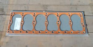 Plymouth 1940 60 Truck Car 230 Flathead 6 Cylinder Nos Copper Head Gasket