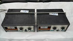 Lot Of 2 Data Precision 134 Digital Multimeters C22