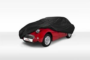 Austin Healey Bugeye Frogeye Sprite 58 60 Fitted Indoor Black Car Cover