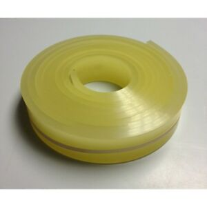 6 Ft feet Roll 70 Durometer Silk Screen Printing Squeegee Blade Yellow