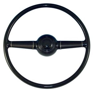 1940 Ford Steering Wheel As Originaldeluxe Passenger Car W Smooth Horn Button