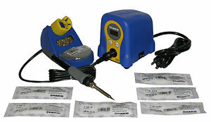 Hakko Fx888d 29by Digital Soldering Station With Hakko s 6 Most Popular Tips