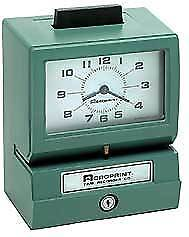 Acroprint Bp125 Battery Operated Time Clock rechargeable