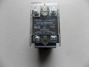 Crydom Solid State Relay Hd6025 With Base