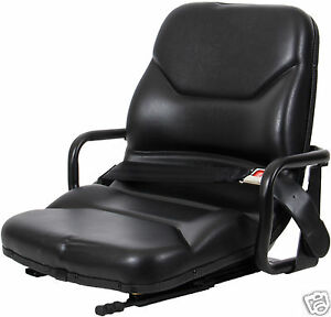 Black Seat With Hip Restraints Caterpillar Forklift mitsubishi telehandler zy